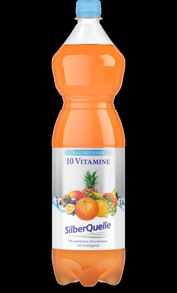 10 Vitamine <br> Kalorienarm