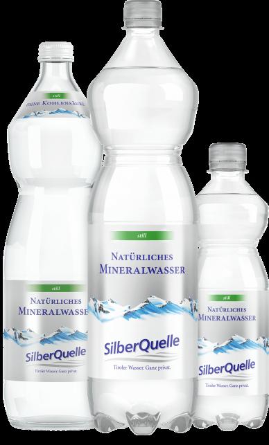 Natürliches Mineralwasser still
